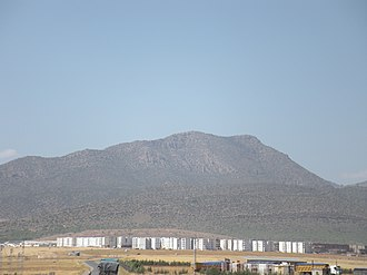 Belezma Range - View of one of the mountains of the range.