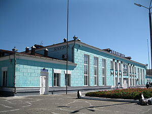Belogorsk, Amur Oblast - Belogorsk railway station
