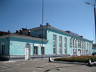 Belogorsk, Amur Oblast - Belogorsk railway station