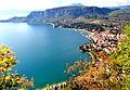 Belvedere dalla Rocca, con vista sul Golfo di Garda e Punta San Vigilio..JPG