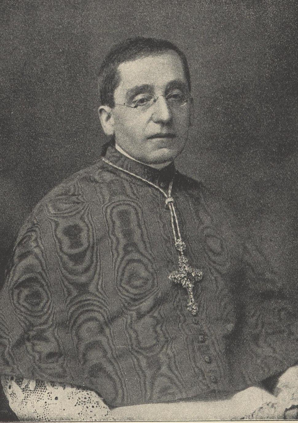 Benedikt XV. als KardinalJS