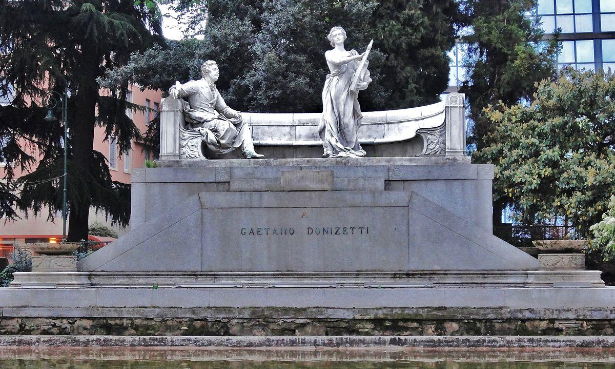 Monument To Donizetti Bergamo Wikipedia