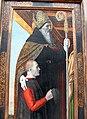 Bergognone, presentazione al tempio e santi, 1494 ca. 03.JPG