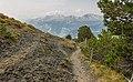 Bergtocht van Arosa via Scheideggseeli (2080 meter) en Ochsenalp (1941 meter) naar Tschiertschen 009.jpg