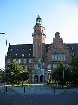 Reinickendorf (locality) - Image: Berlin Rathaus Reinickendorf (Altbau)