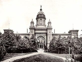 Lichterfelde (Berlin) - Image: Berlin Hauptkadettenanstalt 1900