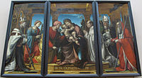 Bernardino zenale, circoncisione con fra jacopo lampugnani e un donatore, , da s. maria della canonica in porta nuova a mi, 1512 ca..JPG