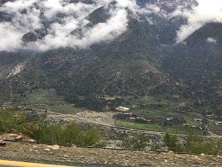 Besham Place in Khyber Pakhtunkhwa, Pakistan