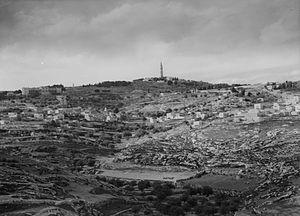 Al-Eizariya - al-Eizariya, as photographed in the 1940s