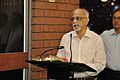 Bhupati Chakrabarti Addressing - Opening Ceremony - Understanding the Universe Exhibition - BITM - Kolkata-2015-02-28 3454.JPG