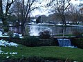 Bibury after snowfall at dusk - geograph.org.uk - 1158866.jpg