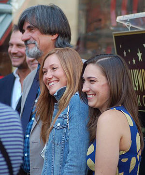 Schuyler Fisk - Fisk with Jack and Madison Fisk at a ceremony for Sissy Spacek to receive a star on the Hollywood Walk of Fame in August 2011