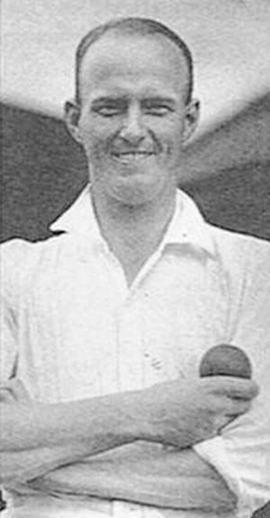 Bill O'Reilly (cricketer) - Bill O'Reilly, ca. 1930