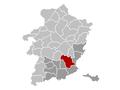 Bilzen Limburg Belgium Map.png