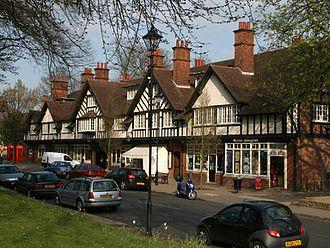 Bournville - Image: Birmingham Bournville Shops