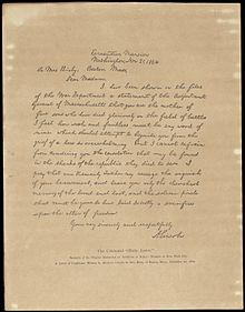 Letters describing the Battles of Gettysburg and Vicksburg