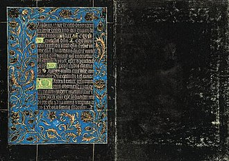 Office of the Dead - Office of the Dead, 15th century, Black Hours, Morgan MS 493