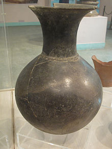 Black earthenware. Pré-Indus civilization. Kashmir.JPG