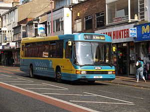 Optare Delta - An Optare Delta DP46F body in Blackpool