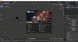 Interfaccia di Blender 2.81