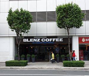 Blenz Coffee - Blenz Coffee at 31st Street in Bonifacio Global City, Metro Manila, Philippines.
