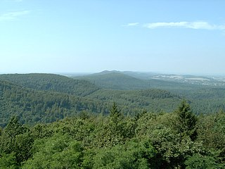 Teutoburg Forest low mountain range in Germany