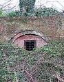 Blocked tunnel under Whitlingham Lane (detail) - geograph.org.uk - 1671138.jpg