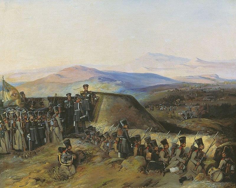https://upload.wikimedia.org/wikipedia/commons/thumb/6/62/Boevoj_epizod_1828-1829.jpg/800px-Boevoj_epizod_1828-1829.jpg