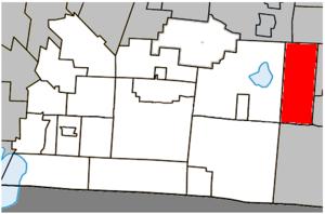 West Bolton, Quebec - Image: Bolton Ouest Quebec location diagram