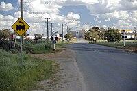 Bomen Road railway crossing.jpg