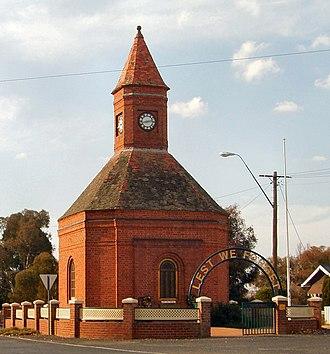 Boorowa - Image: Booroowa Anzac War Memorial