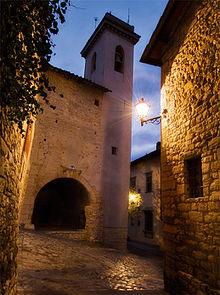 Il campanile della chiesa di San Niccolò