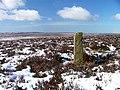 Boundary Stone, Stony Ridge - geograph.org.uk - 132622.jpg