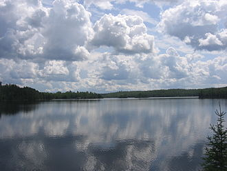 International Joint Commission - Sections of Canada and the United States, including in the Boundary Waters Canoe Area Wilderness, above, are separated by water.  A particularly extensive section of the Canada–US border is in the Great Lakes.