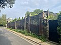 Boundary wall at Hampstead Grove and Upper Terrace, July 2021.jpg