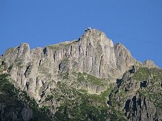 Le Brévent - Image: Brévent Depuis Chamonix 19082008