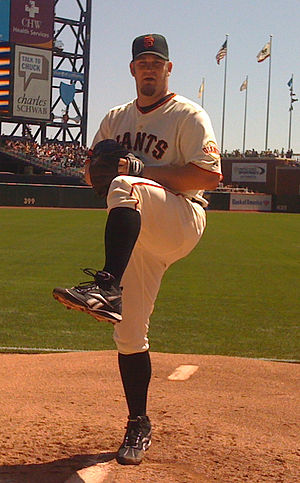 Brad Penny - Penny with the San Francisco Giants