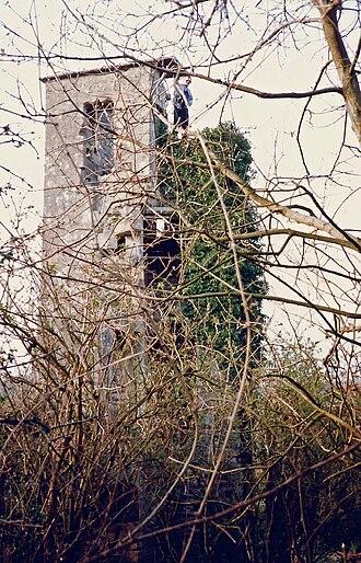 Bradenstoke Priory - The tower