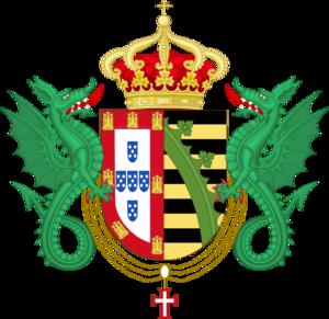 House of Braganza-Saxe-Coburg and Gotha - Image: Bragance Saxe Coburg Gotha