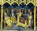 Brandenburg Katharinenkirche - Hochaltar 5c Predella Katharina Diskussion.jpg