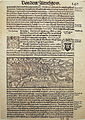 Brandschatzung von Rapperswil durch Zürich 1350 - Chronik Stumpf 1547-48 Faksimile - Stadtmuseum Rapperswil 2013-10-05 16-02-53 (P7700).JPG