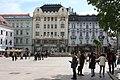 Bratislava, the Palugyay's Palace and the Palác Uhorskej eskontnej a zmenárenskej banky.jpg