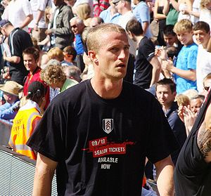 Brede Hangeland - Hangeland with Fulham in 2009