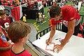 Brian Finneran signs autograph.jpg