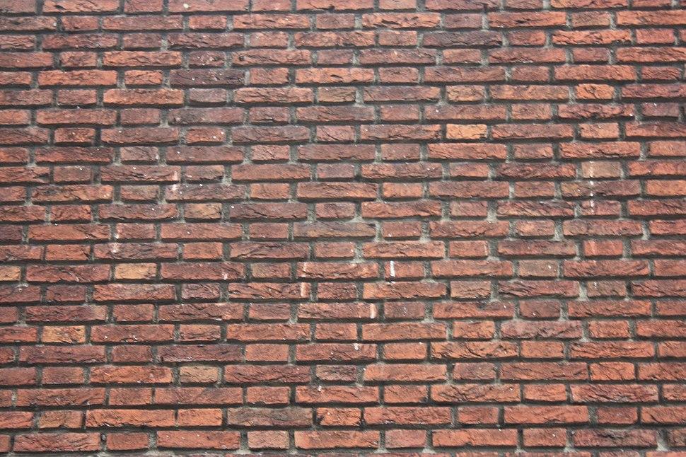 Brickwork in Flemish Bond