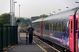 Bridgend railway station - Image: Bridgend railway station MMB 01 43004