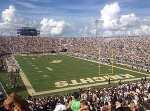 Bright House Networks Stadium from Student Section, Sept. 15.jpg
