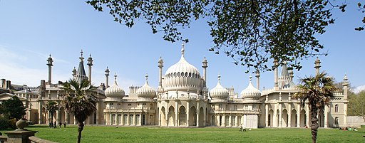 Brighton - Royal Pavilion Panorama