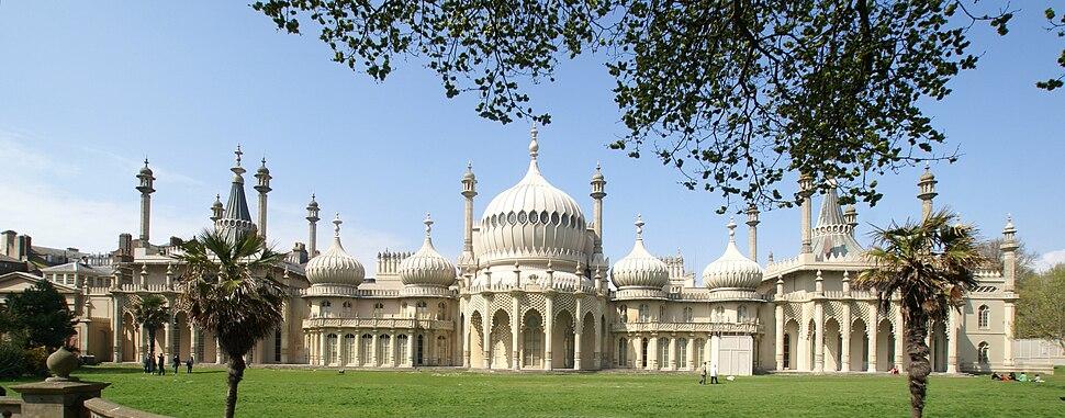 Brighton - Royal Pavilion Panorama