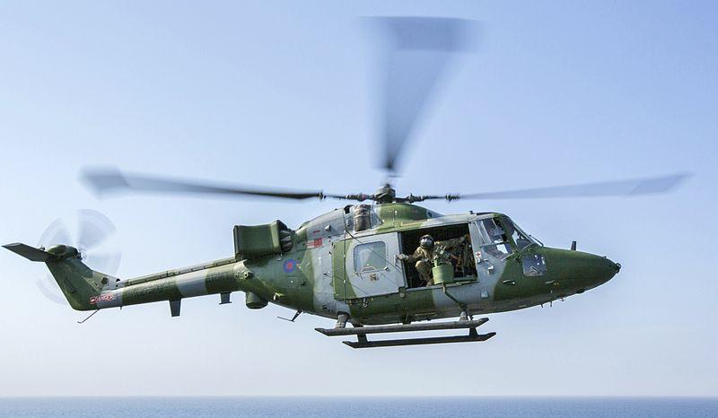 File:British Lynx landing on Kearsarge.jpg